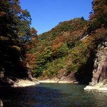 *【小原渓谷】色鮮やかな紅葉をお楽しみ下さい。