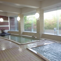 *【大浴場】天然温泉とハーブ風呂を満喫♪