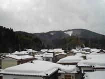 静かな静かな雪景色