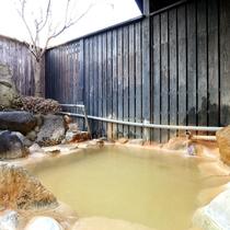 【露天風呂】炭酸泉はカラダぽかぽかです。
