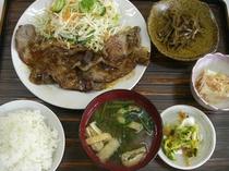 焼肉定食(650円)