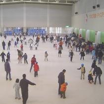 一年中楽しめる通年営業のスケートリンク