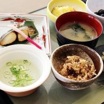 【正食】5泊6日以上の宿泊のお客様には、正食をご用意