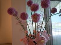 館内のお花2