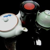 *客室設備一例:お茶セット