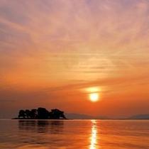 ■宍道湖夕景②