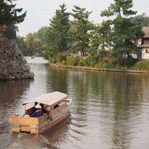 ■堀川めぐり 松江城周辺を遊覧船で観光♪