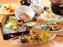 季節会席料理(一例)