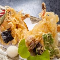 【御食事処とよ常】天ぷら盛合せ1650円