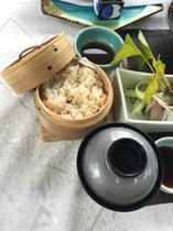 【2015年】冬会席 味飯鮭せいろ蒸し