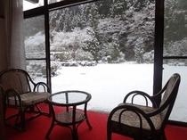 客室からの風景(冬)