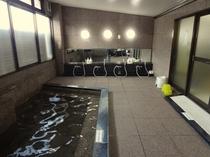 御影石の大浴場(女湯)