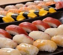 新鮮なネタのにぎり寿司