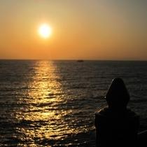 【周辺】夕陽