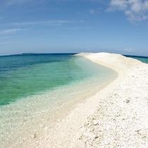 *【ビーチイメージ】エメラルドブルーの海と白い砂浜を満喫♪