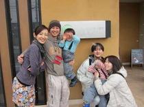 2家族でのご旅行はどうでしたか?また、元気に笑顔を見せに来てくださいね。まっています。