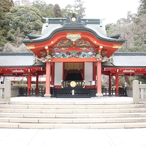 *【霧島神宮】豪華絢爛な朱塗りの社殿☆