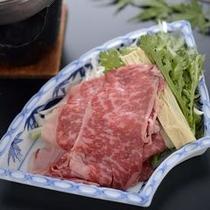 【牛しゃぶ】動物性タンパク質豊富なお肉で心も体も健康になります。