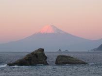 富士山と夫婦岩②
