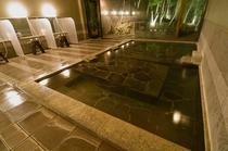 静山の湯 大浴場内風呂 寝湯