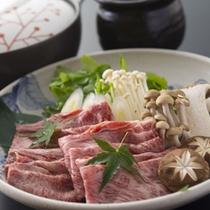 神戸が誇る絶品のブランド牛。しゃぶしゃぶであっさりとしたお肉の味をお楽しみください。