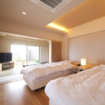 ●1F和洋室 合歓木(ねむのき)<寝室>