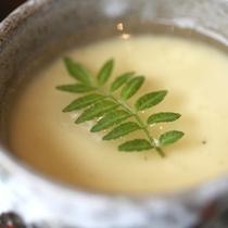 【夕食】一例 茶碗蒸し