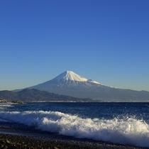 【周辺観光】三保の松原から望む富士山 イメージ