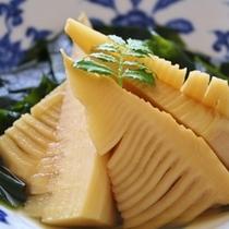【夕食】一例 筍料理