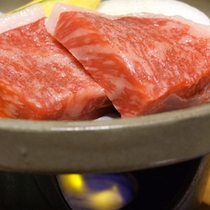 山鹿自慢の「山鹿牛」のステーキ☆肉厚で食べた瞬間、口の中で旨みが広がります!