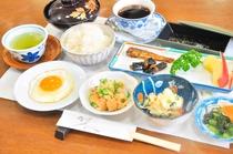 朝食例(和定食)
