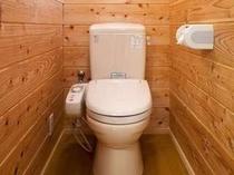 全室ウォッシュトイレ完備。(一例)