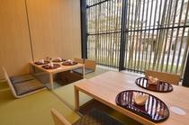 半個室・掘りごたつのお席は、お子様連れのお客様やご高齢の方にもおすすめ。