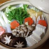 【かに鍋 お野菜♪】