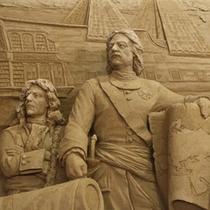 【砂の美術館】ピョートル大帝と西欧化