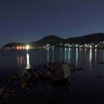 *日本海越しのの夜景