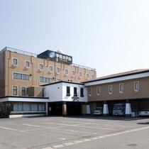 *「宇佐」の中心に位置する宇佐唯一のシティホテルです