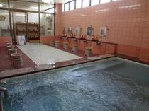富士湧水を使ったお風呂ですっきり旅の疲れを癒して下さい