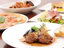 ロゼッタのスペシャルディナー(メイン肉料理チョイス一例)