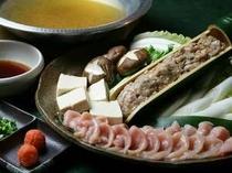 【鶏味座】《信州地鶏》水炊き鍋