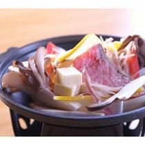 海鮮と野菜の陶板焼き