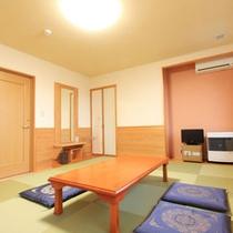 *【客室一例】青森ヒバが香るお部屋です。