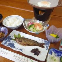 *【朝食例】体に優しい和朝食を堪能!
