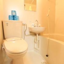 *【バス・トイレ付客室一例】清潔なお手洗いスペース