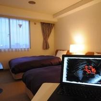 全室「有線LAN完備」