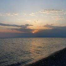 【千本浜】お車20分「朝の海」