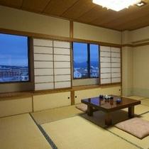 和室10畳(夜のイメージ)