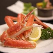 蟹料理(グレードアップコース)