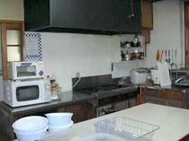 自炊用キッチンです。