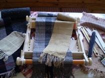 はた織り体験